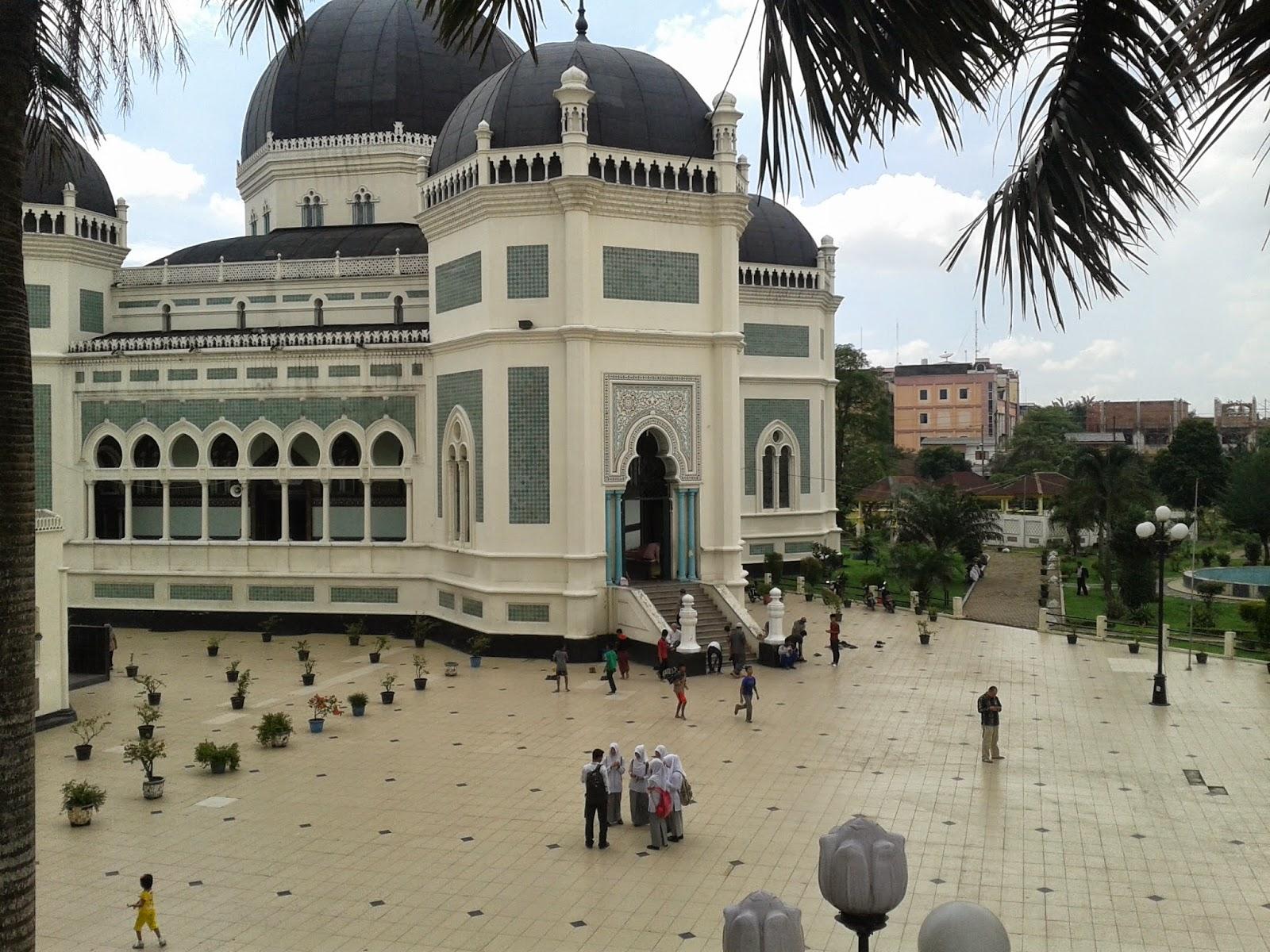 Jum Mesjid Raya Medan Al Mashun Thinking Kills Masjid Sebuah