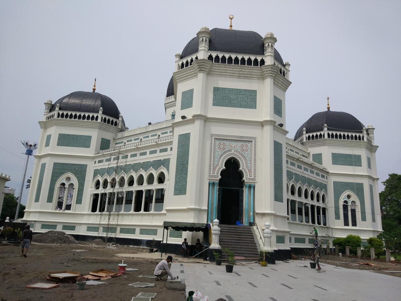 Masjid Raya Al Mashun Medan Indonesia Mosque Kota