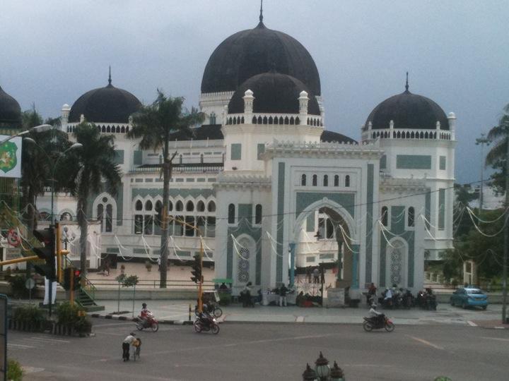 Masjid Raya Al Mashun Medan Sumatera Utara Alam Kota