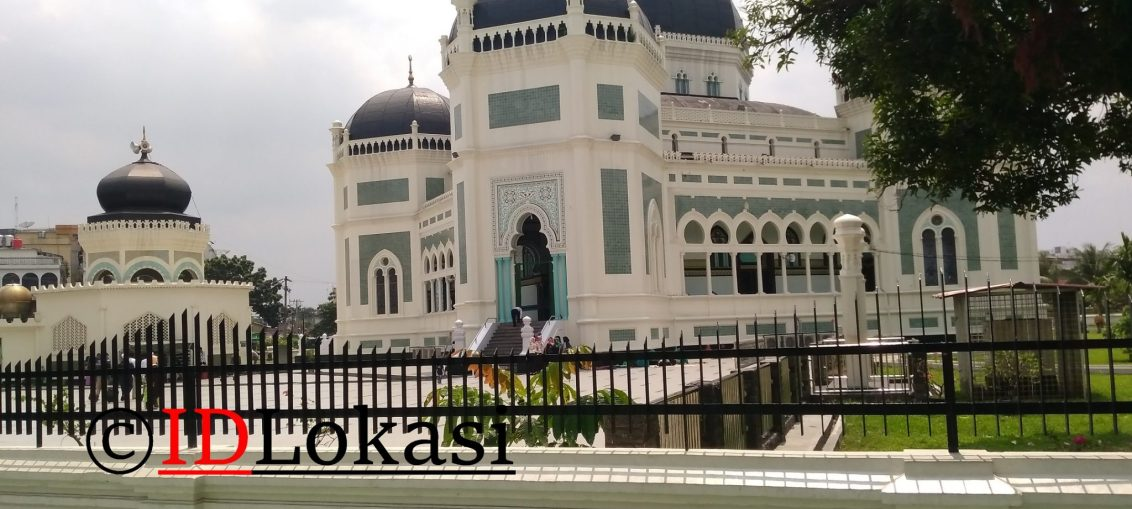 Masjid Raya Medan Al Mashun Kota Idlokasi