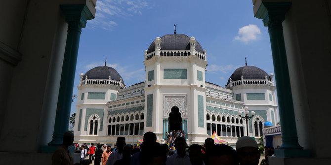 Masjid Raya Medan Ikon Sejarah Eksistensi Suku Melayu Merdeka Kota