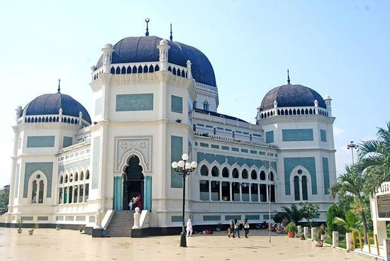 Masjid Raya Medan Review Grand Mosque Indonesia Tripadvisor Kota