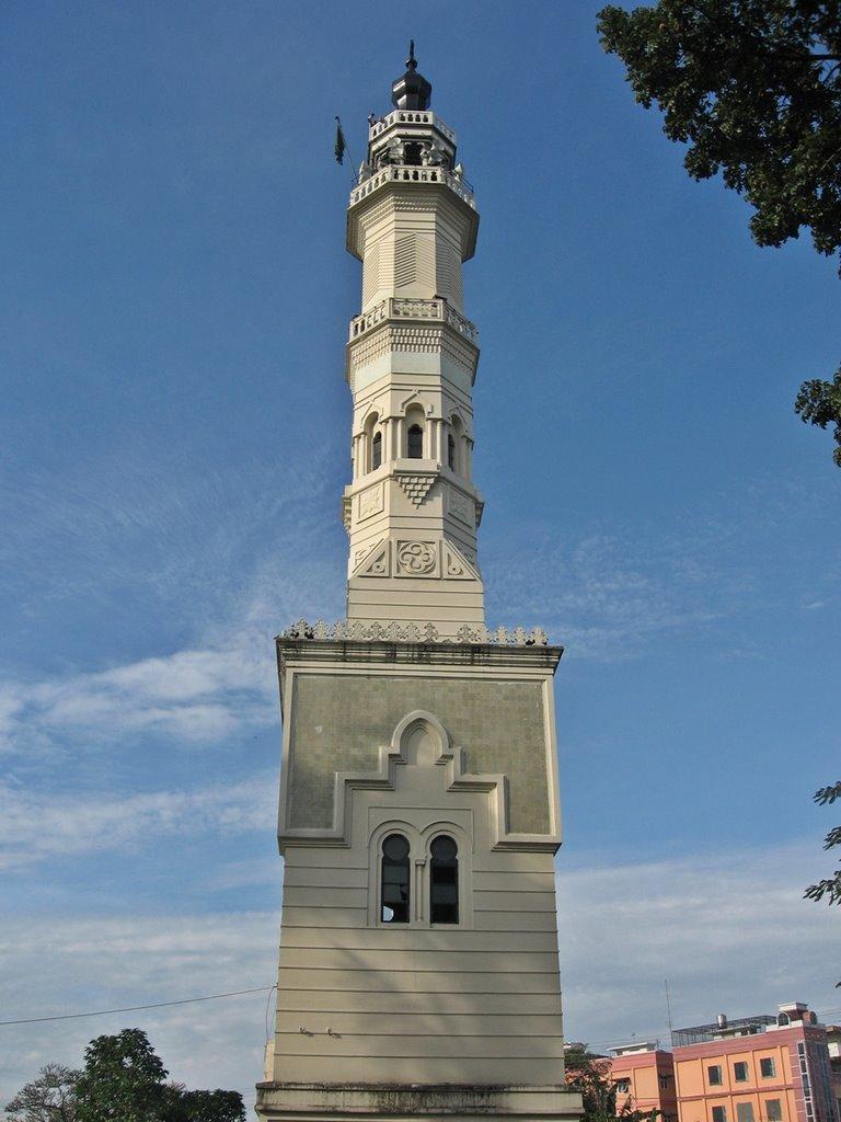 Menara Masjid Raya Medan Mapio Net Kota