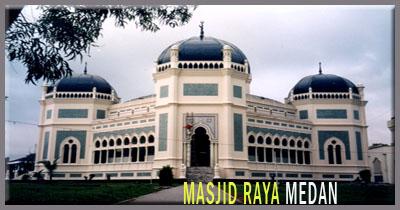 Menilik Bangunan Bersejarah Masjid Raya Medan Tempat Wisata Populer Sumatera