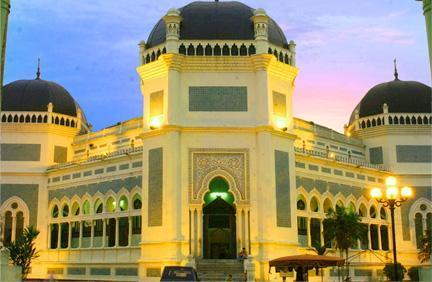 Mesjid Raya Al Mashun Medan Masjid Kota