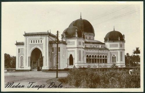Mesjid Raya Al Mashun Medan Rumah Ibadah Skyscrapercity Http Www