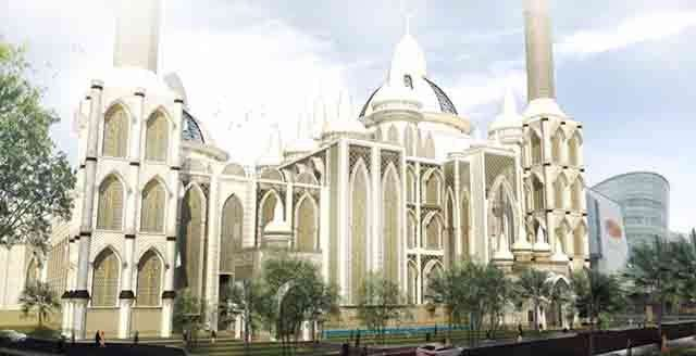 Pembangunan Masjid Agung Medan Dimulai Kabar Hari Foto Istimewa Walikota