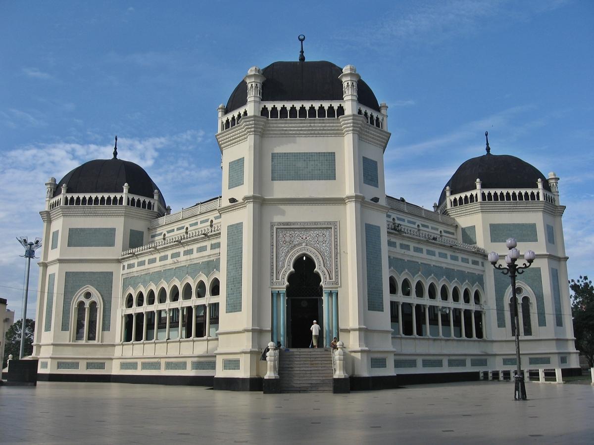 Tau Nggak Sih Dingemans Arsitektur Masjid Raya Medan Kota