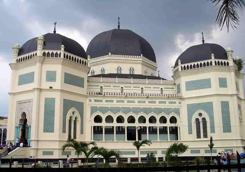 Tempat Wisata Dikunjungi Medan Obyek Masjid Raya Kota