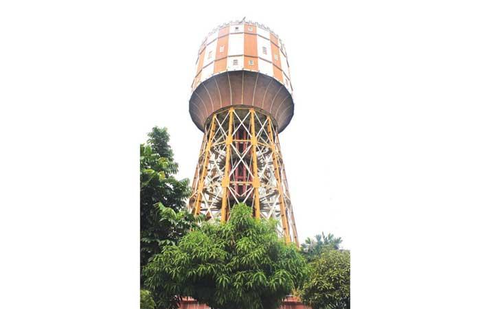 Berita Menara Air Utilitas Konsep Kemoderenan Kota Harian Analisa Tirtanadi