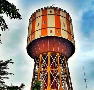 Genks Menara Air Tirtanadi Tempat Wisata Medan Kota