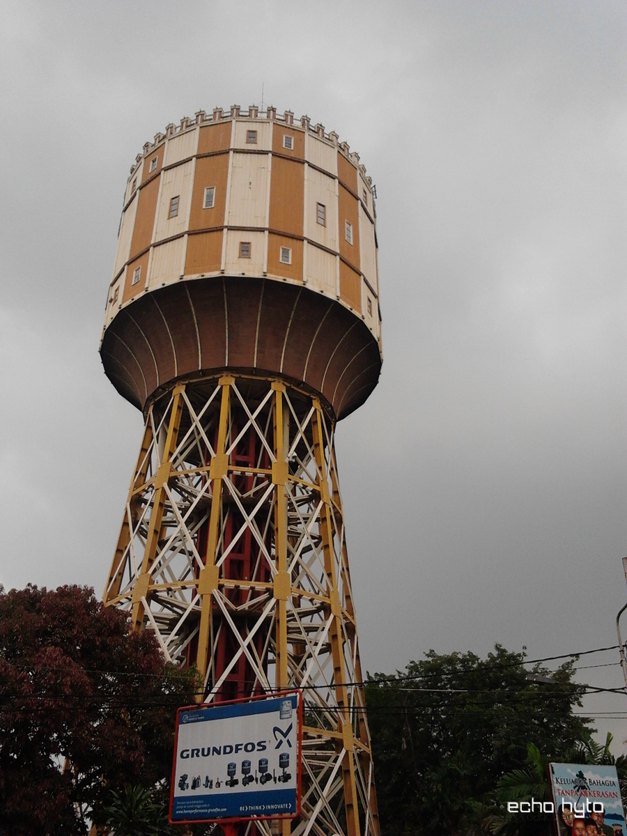 Kota Medan Echophoto Menara Air Pdam Tirtanadi