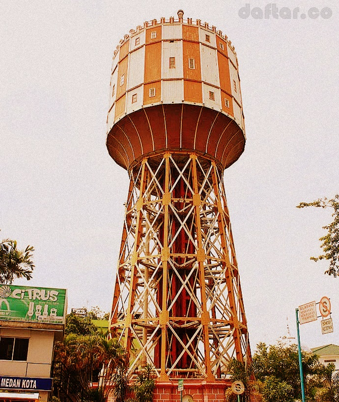Menara Air Medan Daftar Tirtanadi Kota