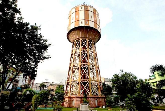 Menara Air Pdam Tirtanadi Medan Sejarah Kota