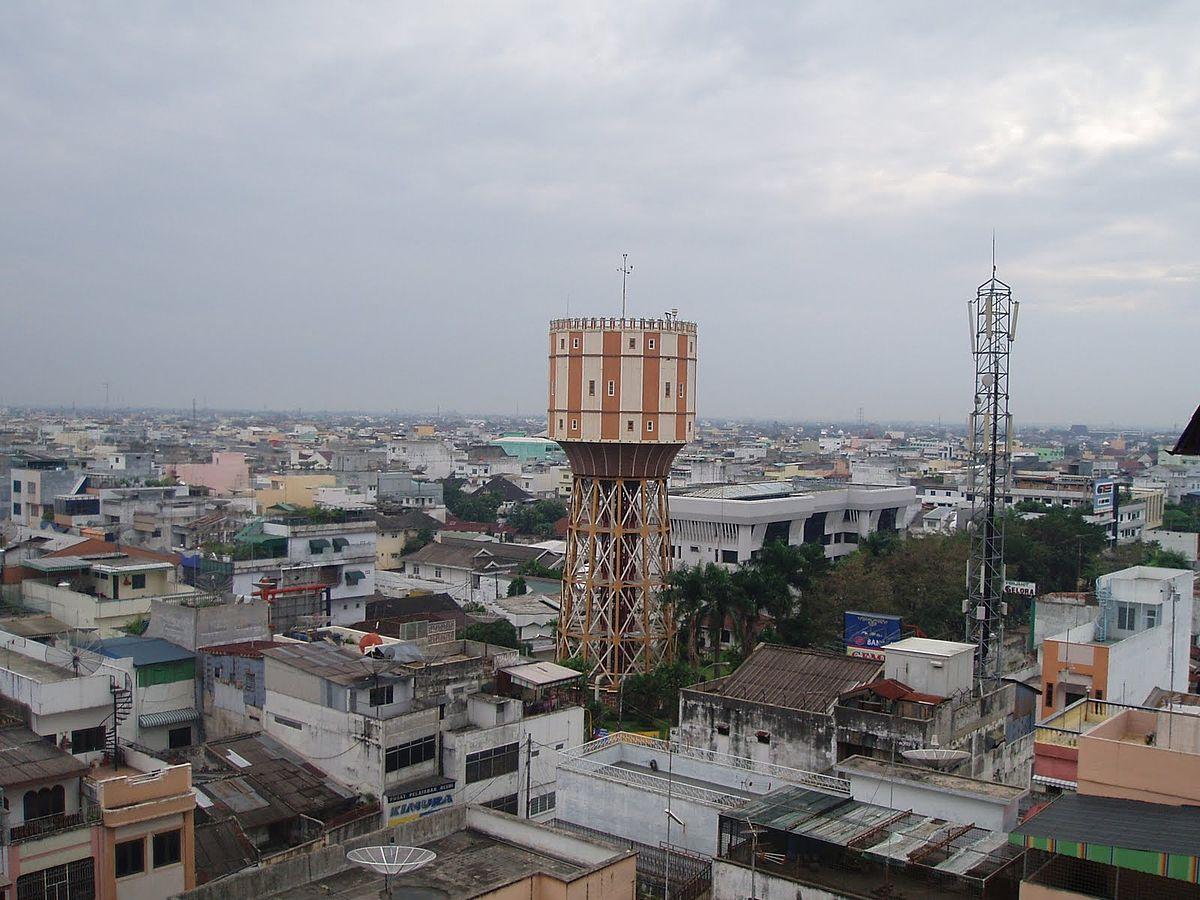 Menara Air Tirtanadi Wikipedia Bahasa Indonesia Ensiklopedia Bebas Kota Medan