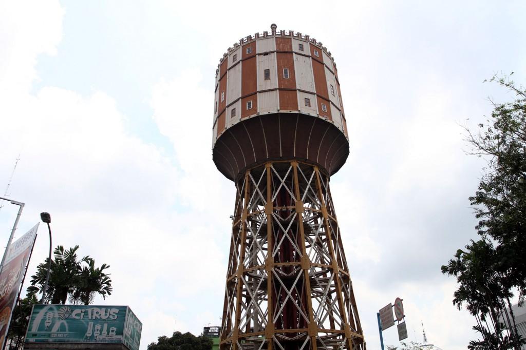 Menara Air Tirtanadi Wisata Landmark Kota Medan Sumatera Utara