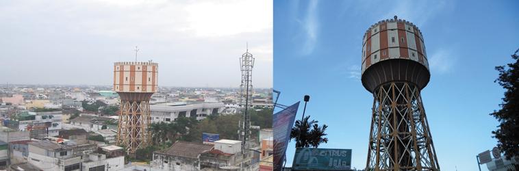 Menara Tirtanadi Satu Ciri Khas Kota Medan Bangunan Air Menjadi