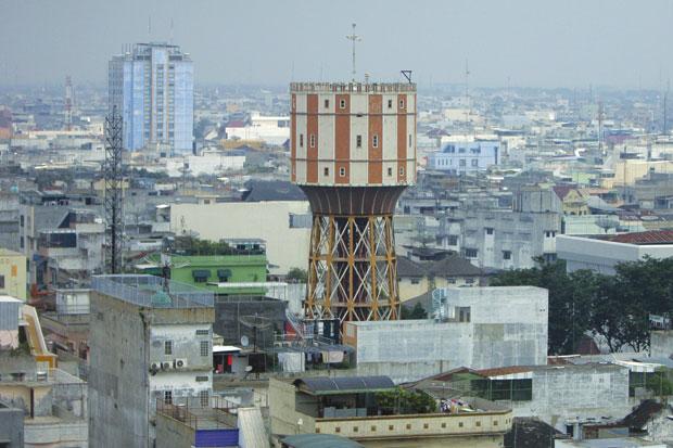 Mulai Berkemas Pejabat Menara Air Tirtanadi Kota Medan