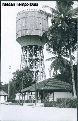 Muslim Ginting Menara Pdam Tirtanadi Air Kota Medan