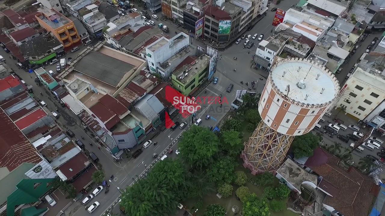 Sf Aerial Menara Air Pdam Tirtanadi Medan 0002 Youtube Kota