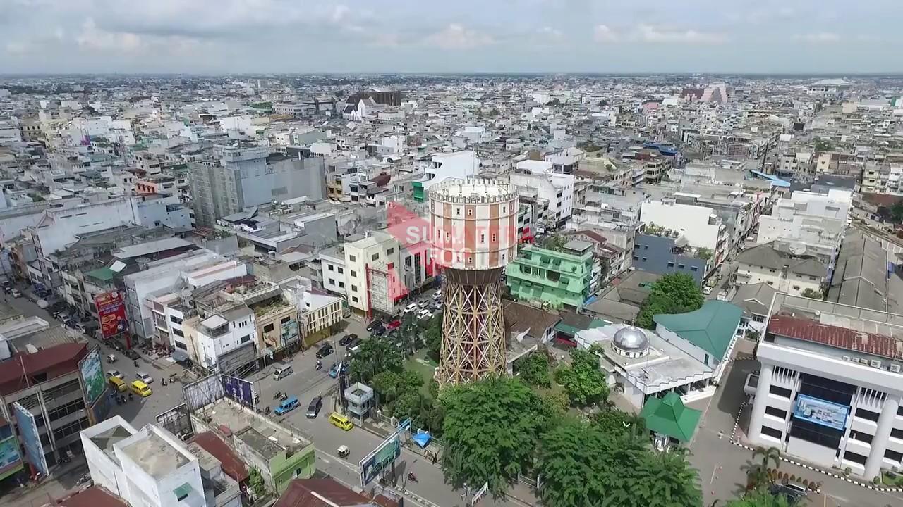 Sf Aerial Menara Air Pdam Tirtanadi Medan 0003 Youtube Kota
