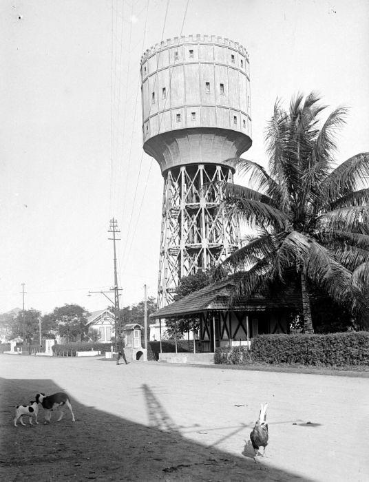 Tirtanadi Water Tower Wikipedia Menara Air Kota Medan