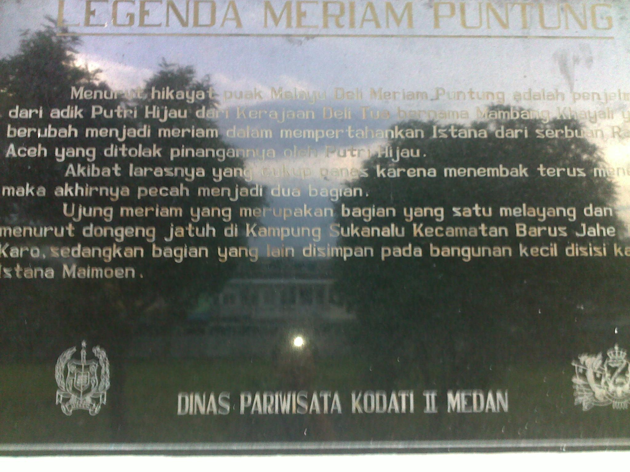 Berkunjung Kota Medan Bagian 3 Istana Maimun Indah Penjelasan Hikayat