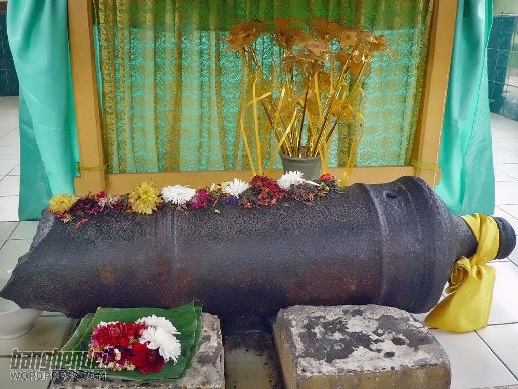 Meriam Puntung Puteri Hijau Kerajaan Aceh Kisah Kota Medan