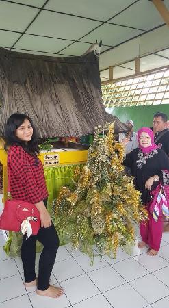 Tempat Meriam Puntung Istana Maimoon Medan Indonesia Foto Maimun Kota