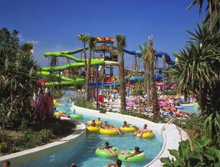 Adventure Style Theme Park Medan Water Beralamat Dusun Desa Pantai