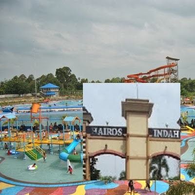 Adventure Style Theme Park Medan Water Hairos Indah Beralamat Jalan