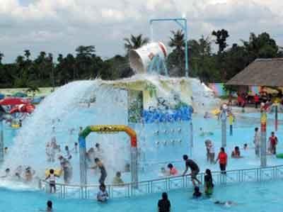 Destinasi Wisata Keluarga Taman Mora Indah Tanjung Morawa Sebab Terletak
