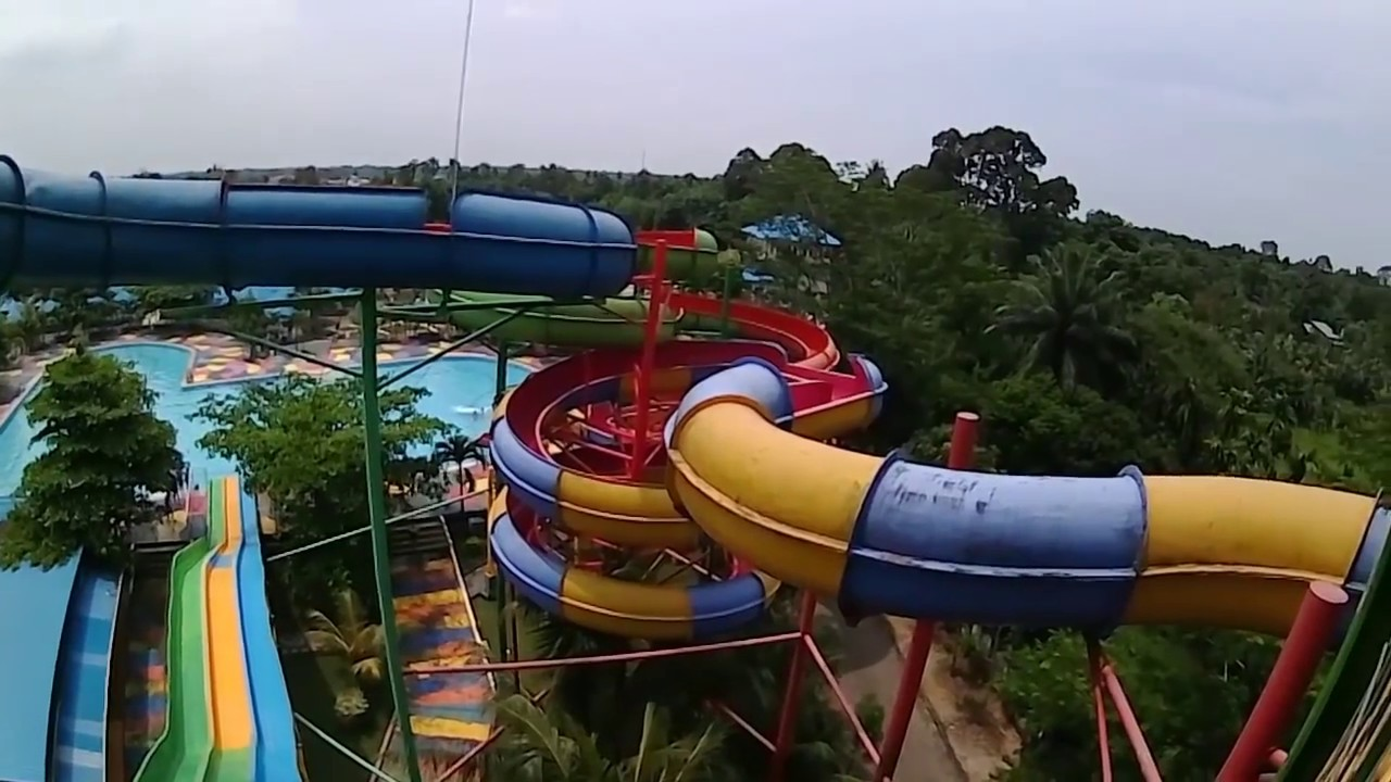 Hairos Indah Water Park Medan Actions Hd Youtube Mora Kota