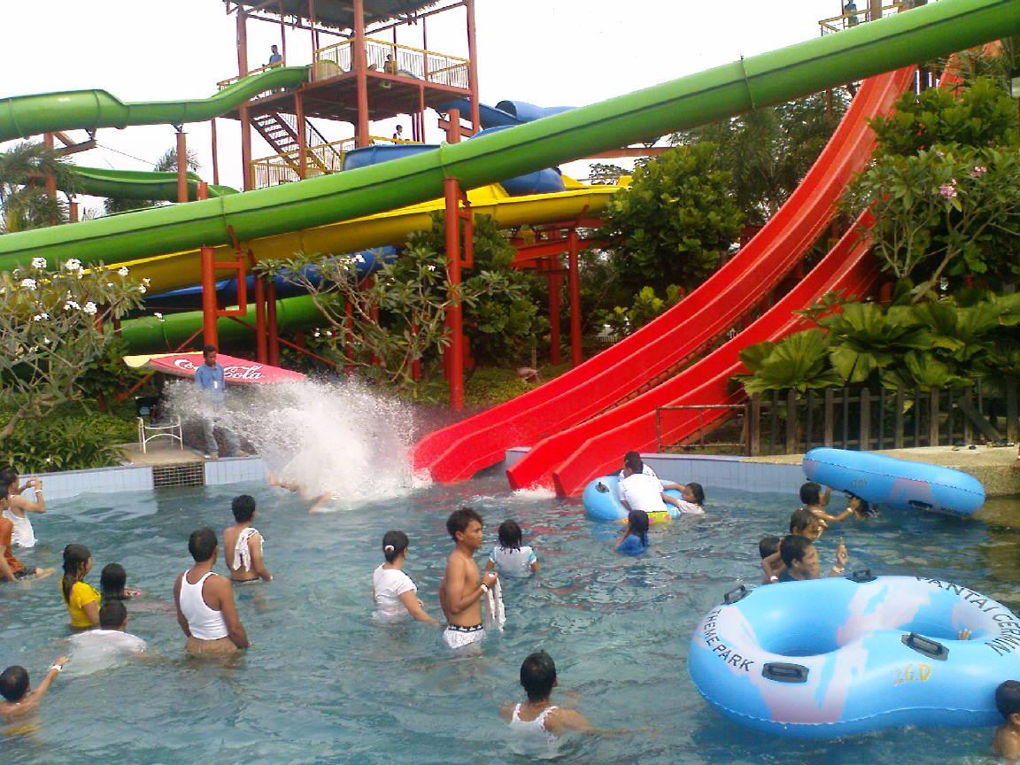 Pantai Cermin Theme Park Rekreasi Pesisir Timur Sumatera Mora Indah