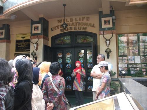Kunjungan Rahmat Museum Galeri Persatuan Usai Mengikuti Pertemuan Nasional Satwa