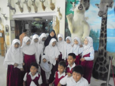 Sd Juara Kunjungi Rahmat International Wildlife Museum Gallery Mengadakan Field