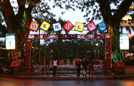 Merdeka Walk Tempat Nongkrong Sekaligus Wisata Kuliner Pusat Kota Medan