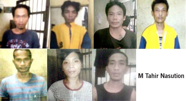 12 Tahanan Lari Polsek Percut Sei Tuan Polisi Kejar Otak