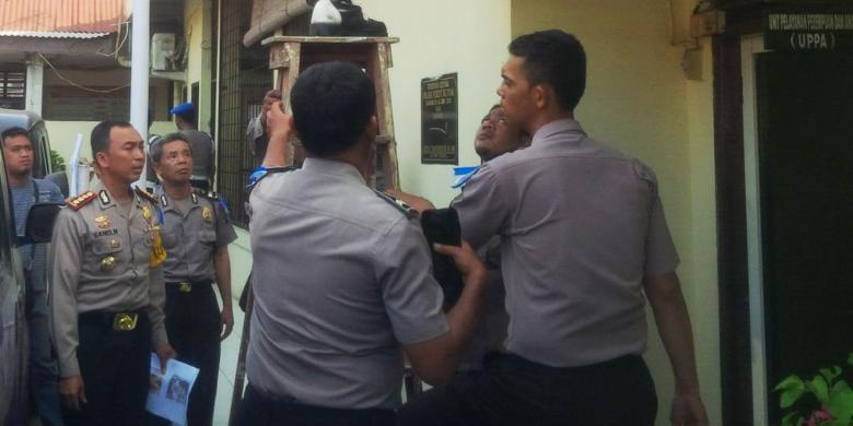 12 Tahanan Polsek Percut Sei Tuan Kabur Petugas Piket Tertidur