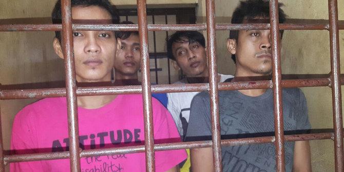8 Tertangkap 4 Tahanan Polsek Percut Sei Tuan Diburu Polisi