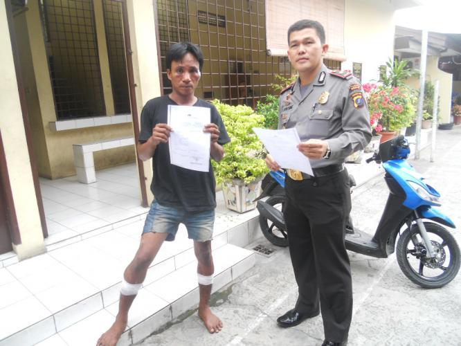 Buronan Polsek Percut Sei Tuan Roboh Ditembak Hariansib Kota Medan
