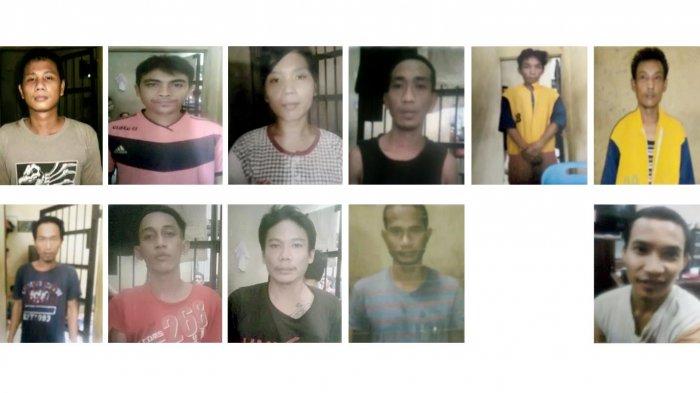 Geger 12 Tahanan Kabur Inilah Foto Identitas Masyarakat Tetap Waspada