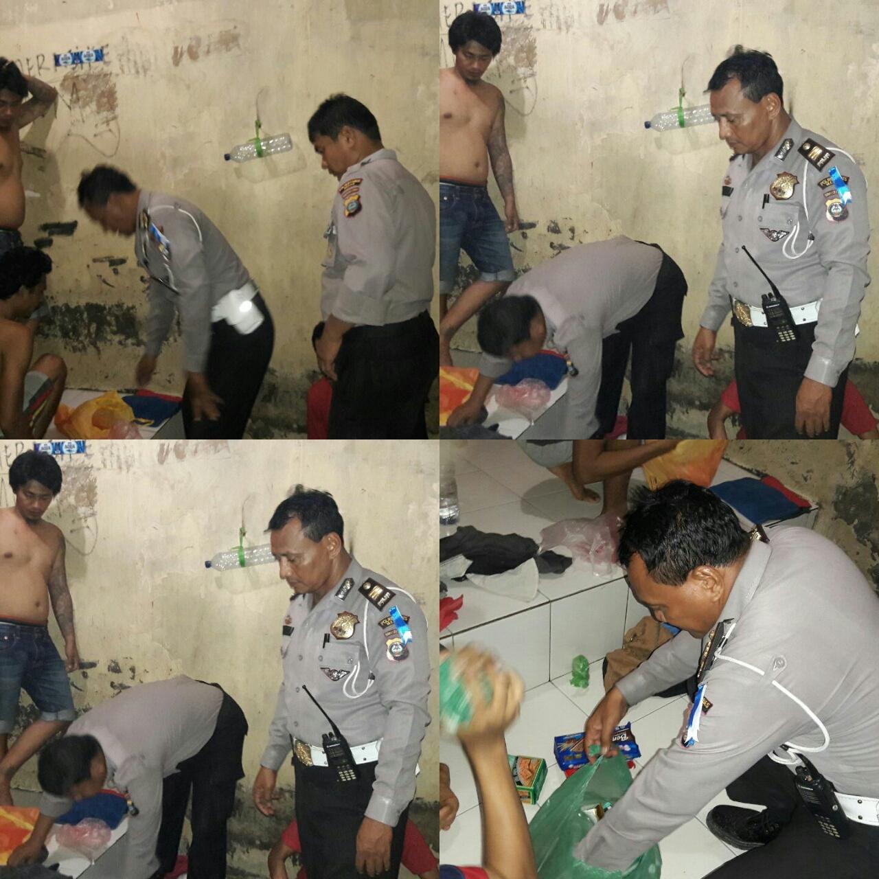 Giat Pengecekan Tahanan Polsek Percut Sei Tuan Polrestabes Medan Kota