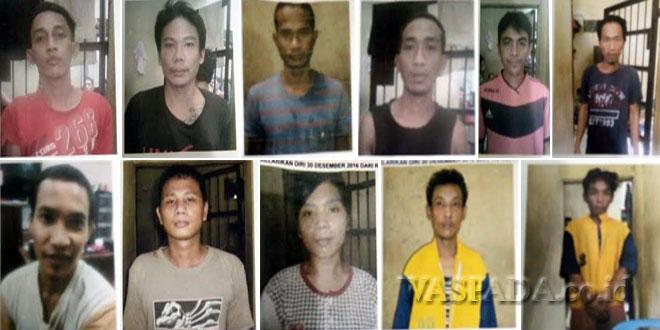 Inilah Identitas Tahanan Kabur Polsek Percut Seituan Sei Tuan Kota