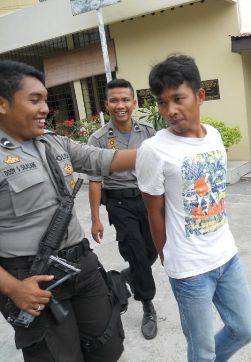 Pencuri Hp Dihakimi Massa Percut Sei Tuan Hariansib Kota Medan