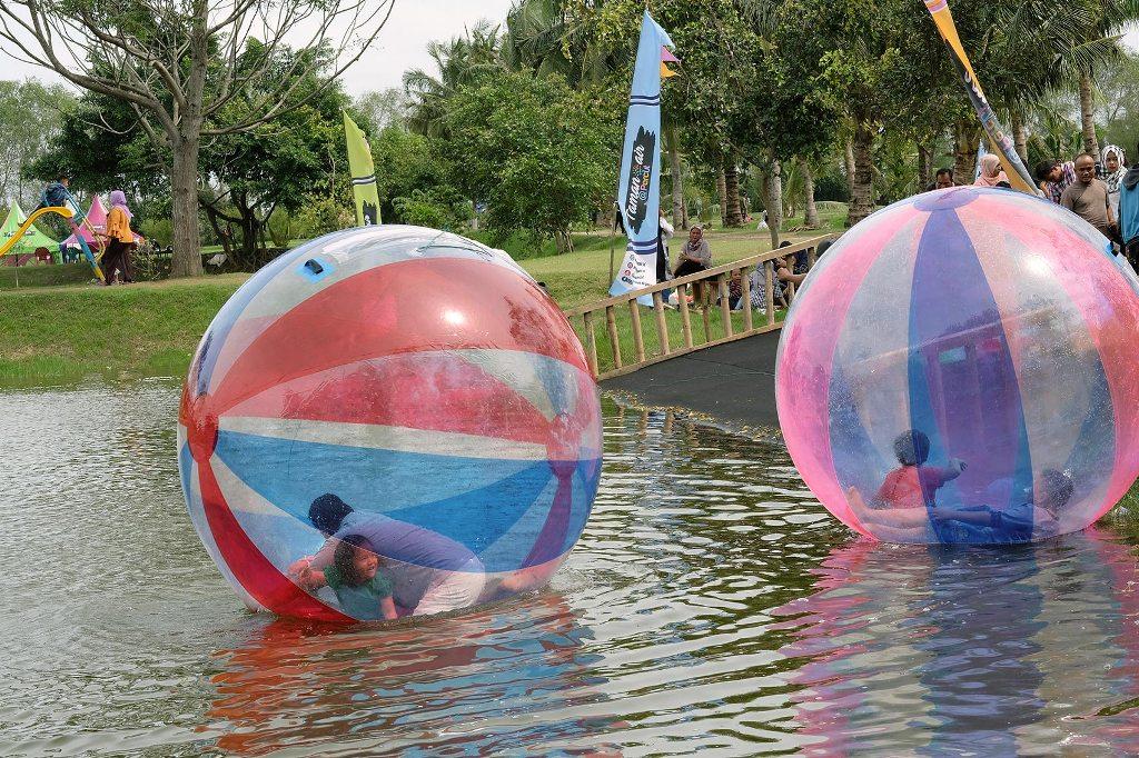 Taman Air Percut Tempat Wisata Deli Serdang Cerita Medan Sei