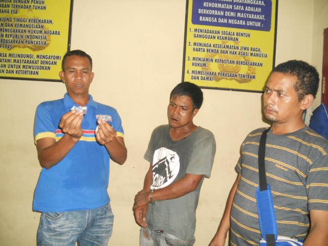 Tangkap Bandar Narkoba Polisi Dilempari Percut Sei Tuan Hariansib Kota