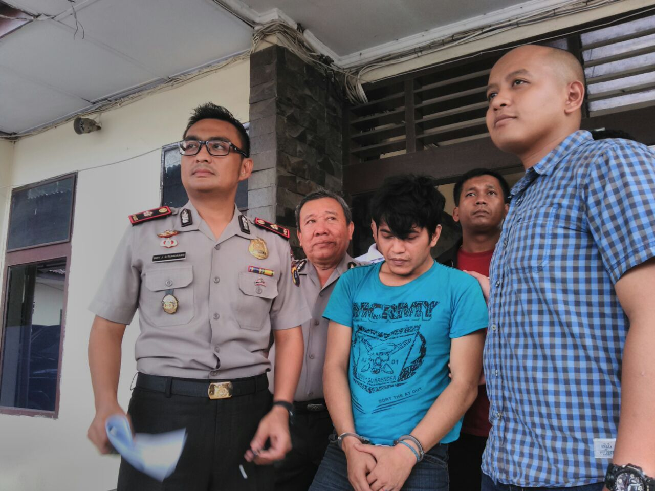 Tembak 1 Tahanan Polsek Percut Sei Tuan Medan Kabur Polisi