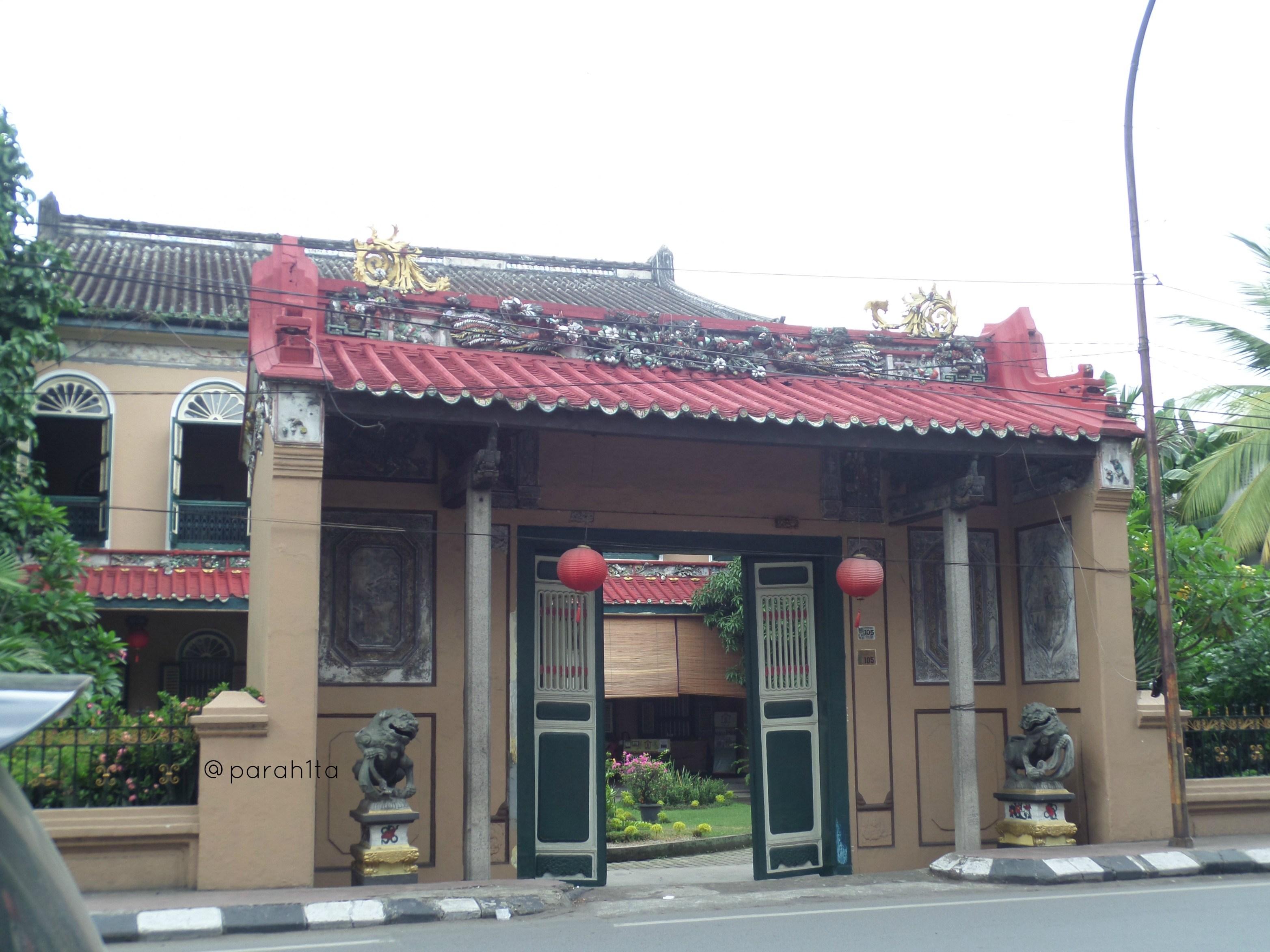 Bertamu Rumah Tjong Fie Parah1ta Medan Kota