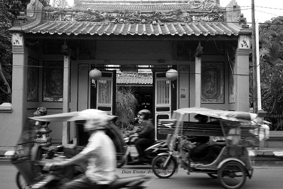 Dian Kirana Rumah Besar Tjong Fie Mansion Kota Medan